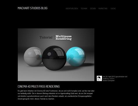 Machart Studios Weblog