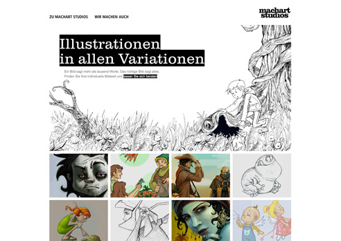 Machart Studios macht Illustrationen