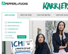 Typo3 Website Pepperl + Fuchs IT und Technik