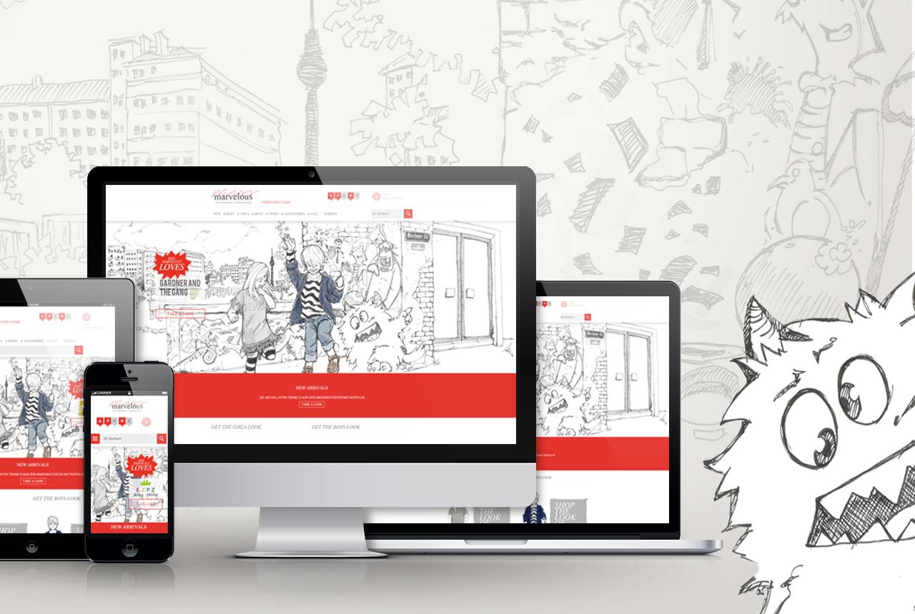 miss marvelous corporate ecommerce webdesign webshop. Black Bedroom Furniture Sets. Home Design Ideas